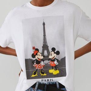 Zara Disney Mickey Mouse t shirt